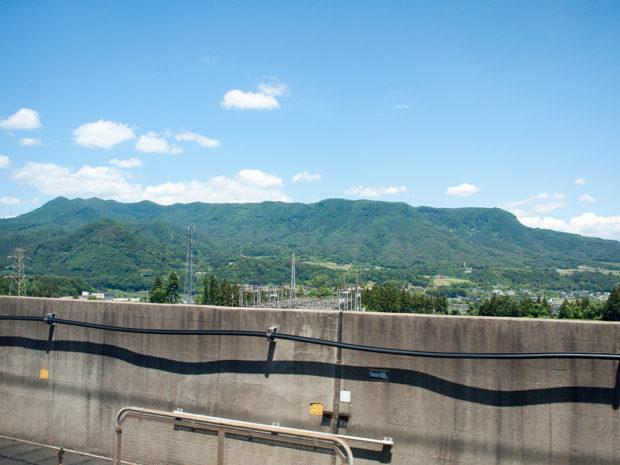 車窓 上越新幹線