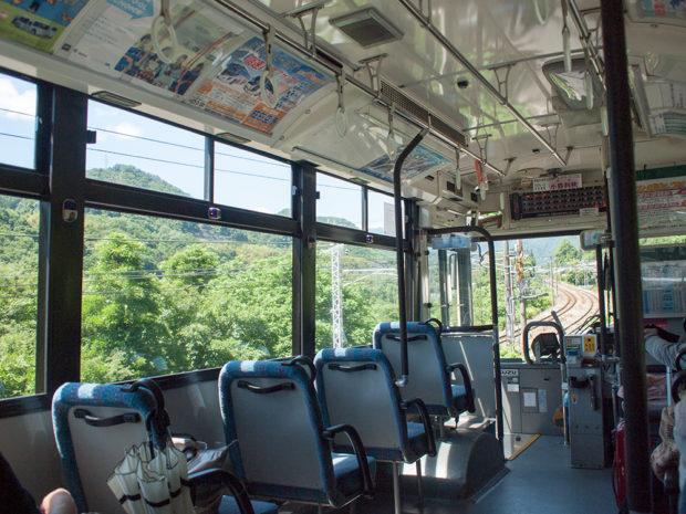 バス 上毛高原 水上