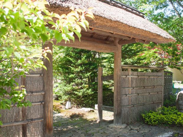 別邸仙寿庵 入り口
