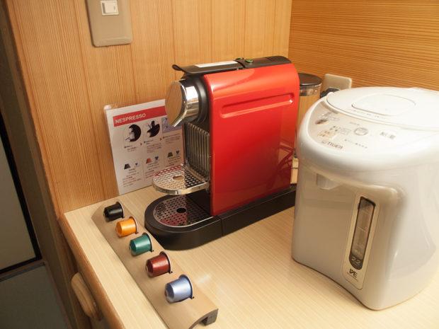 Nespresso 温泉宿