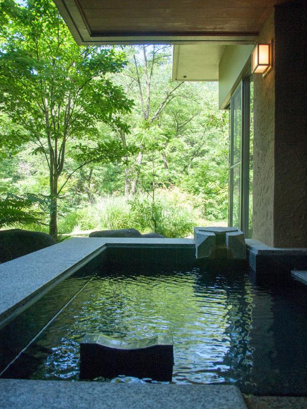 仙寿庵 部屋露天風呂