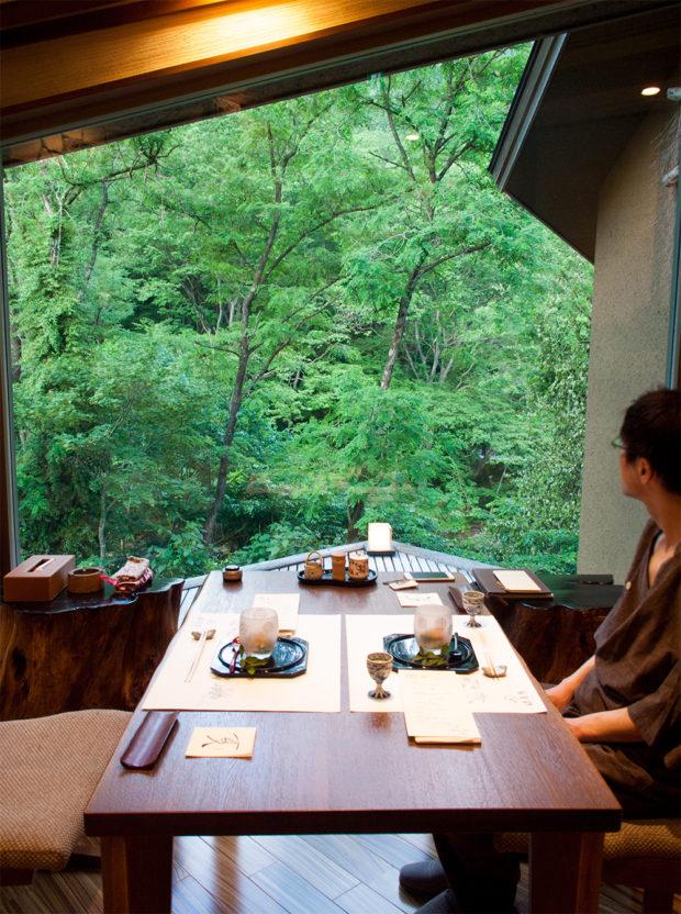 仙寿庵 食事 個室