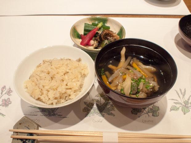 温泉宿 夕食