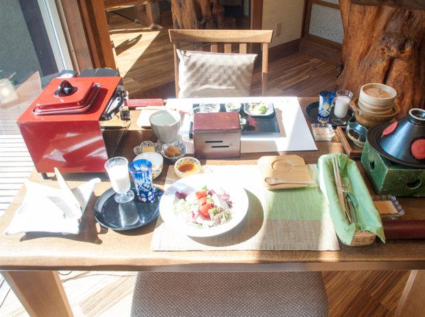 仙寿庵 朝食 ブログ