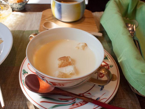 コーンスープ 朝食