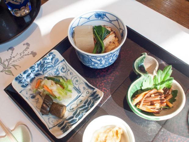 朝食 仙寿庵