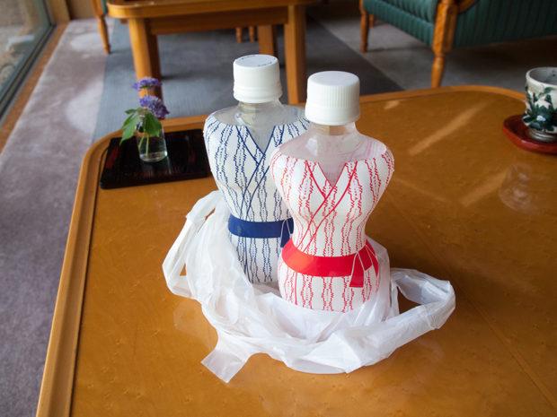 ミネラルウォーター 浴衣ボトル