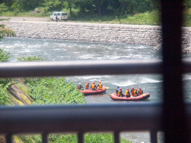 ライン川下り 水上