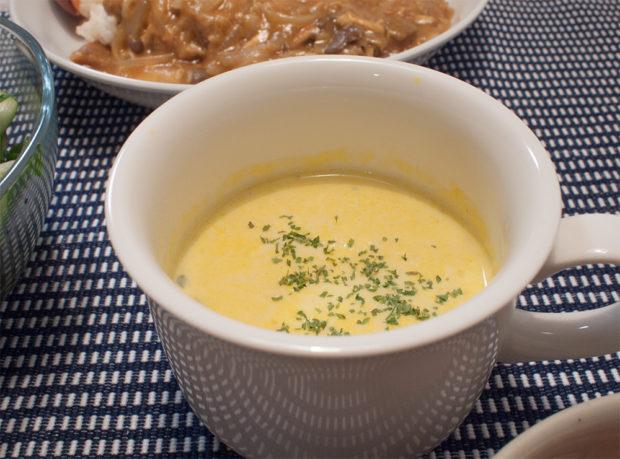かぼちゃスープ かんたん