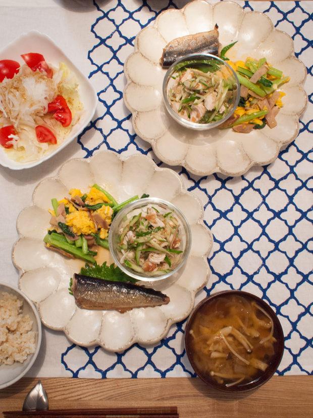 夕飯 献立 魚
