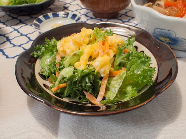 サラダ たまご キット
