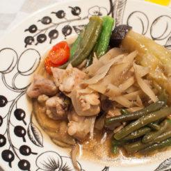 鶏肉 野菜 炊き合わせ