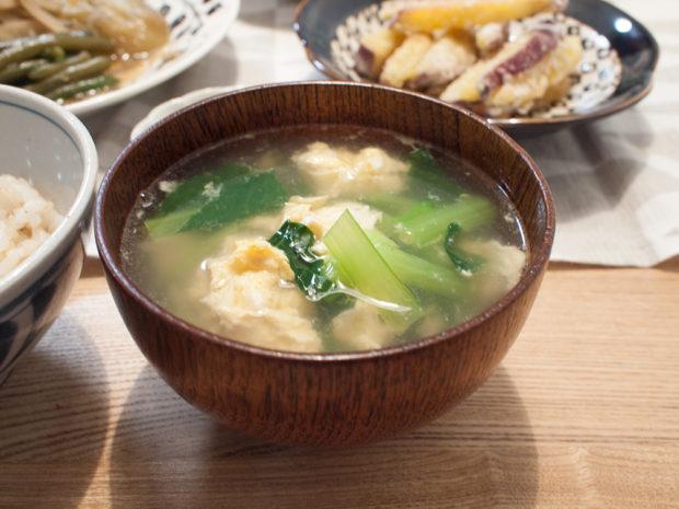 シャンタンスープ