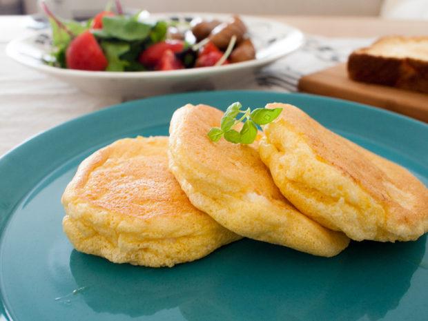 スフレパンケーキ クックパッド 朝食