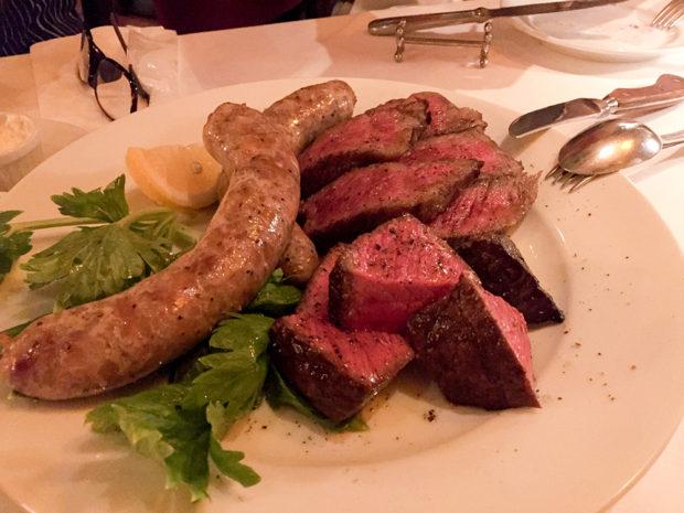 炭火焼 牛肉