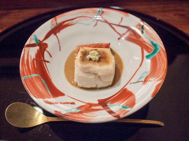 徳 うち山 胡麻豆腐