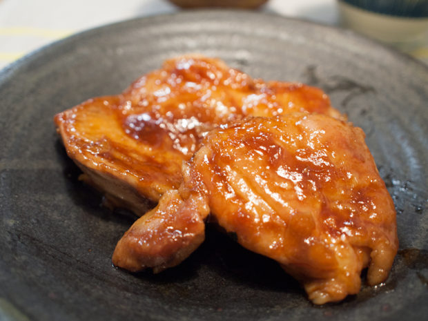 鶏の照り焼き にんにく