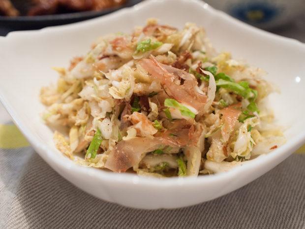 白菜 サラダ