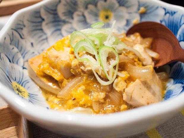 豆腐 卵 甘辛
