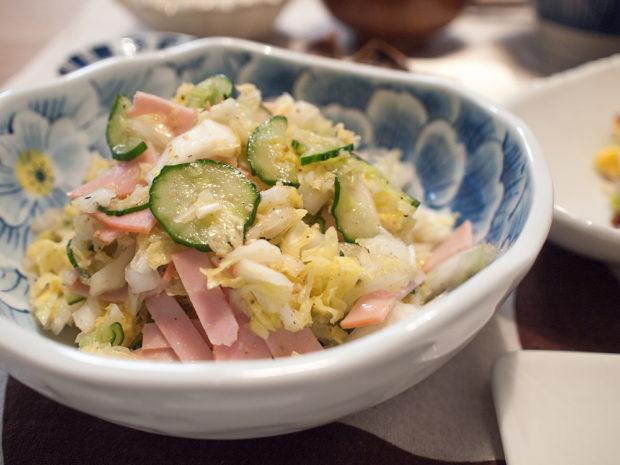 白菜 サラダ ナムル
