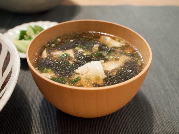 海苔 スープ