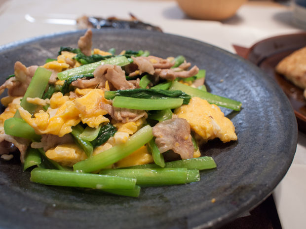 小松菜 豚バラ 卵 クックパッド