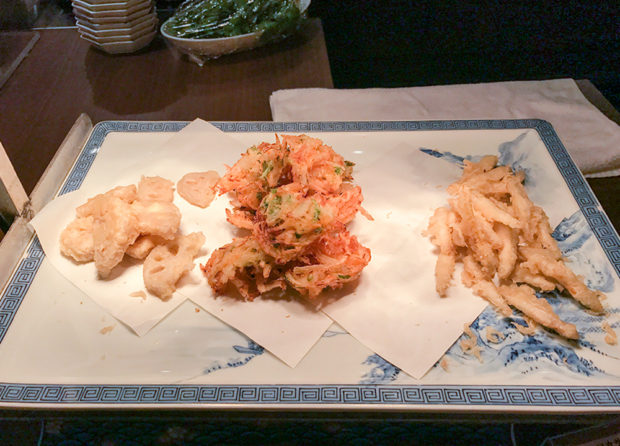 天ぷら ブッフェ