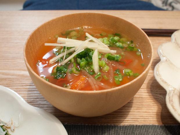 トマト 中華スープ
