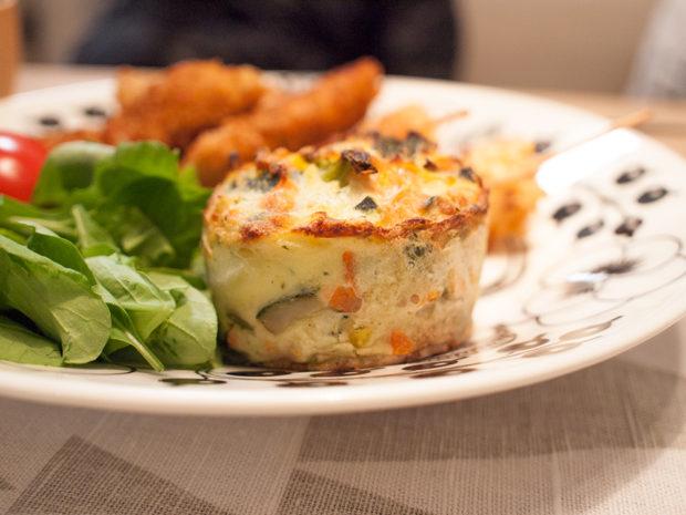 ピカール 4種の野菜のグラタン