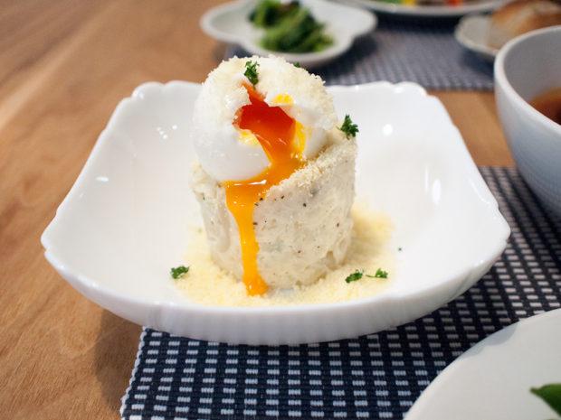 カルボナーラ風 ポテトサラダ
