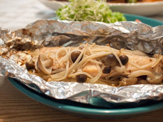 鮭 ホイル焼き