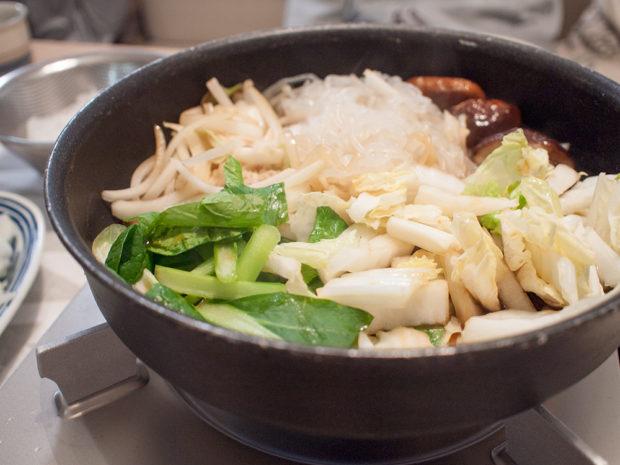 すき焼きの野菜