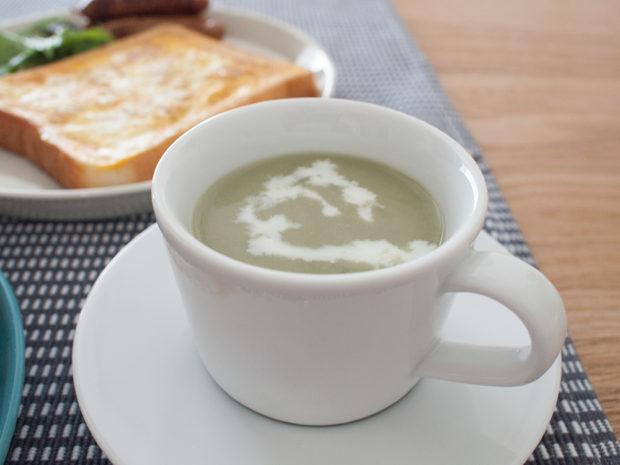 無印の冷製スープ