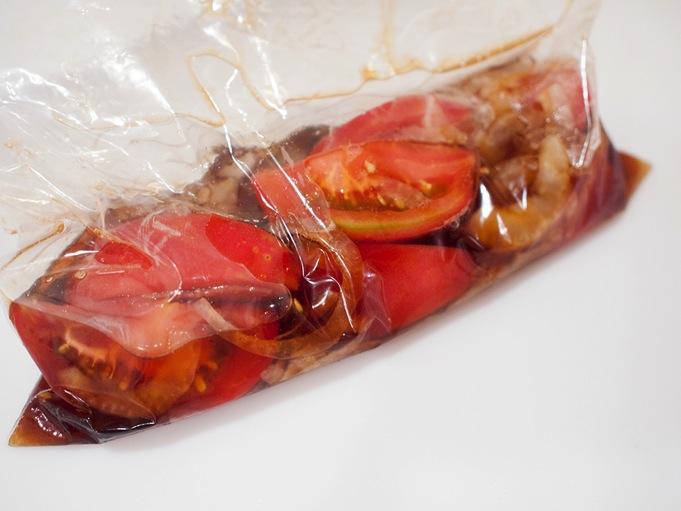 トマトのポン酢漬け