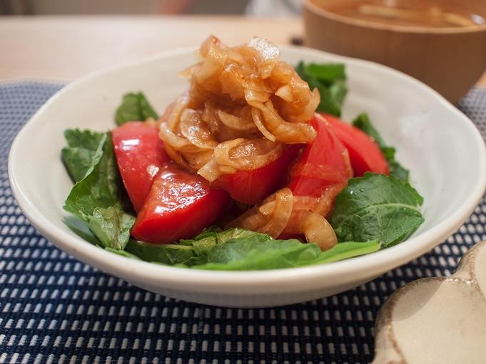 ポン酢トマト