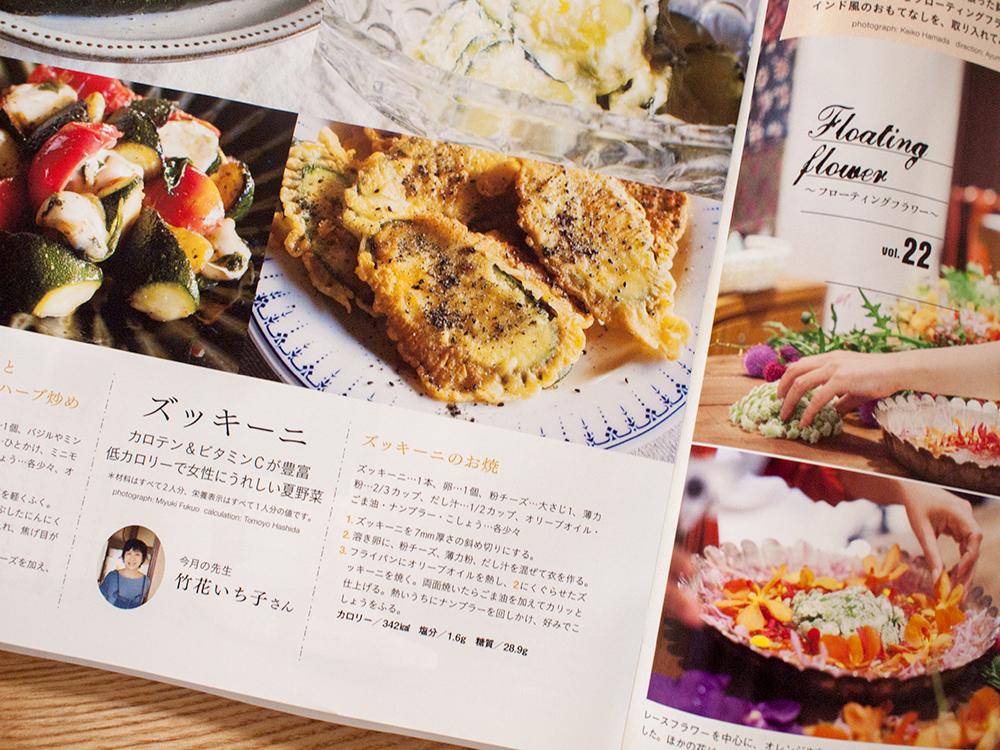 雑誌のレシピ