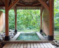 清龍庵 お部屋の露天風呂