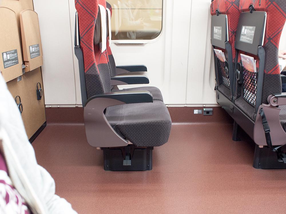 北陸新幹線 座席