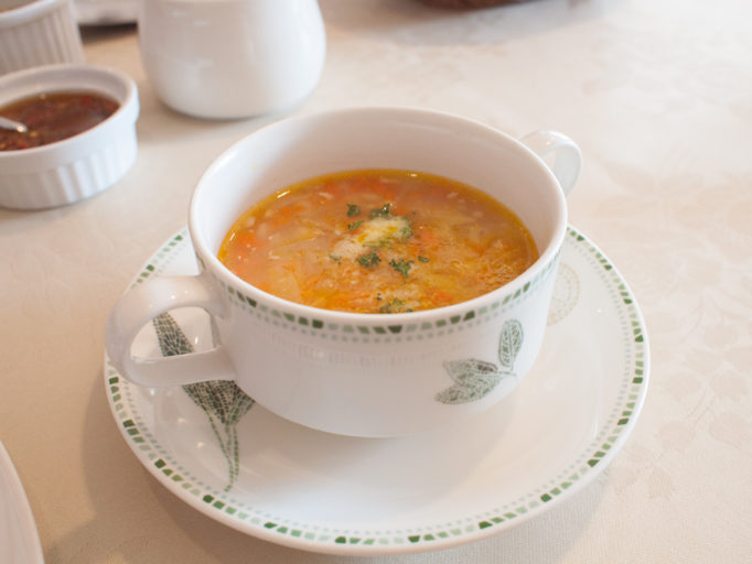 サント ウベルトゥスのランチスープ