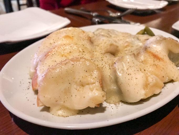 ラクレットチーズのお料理