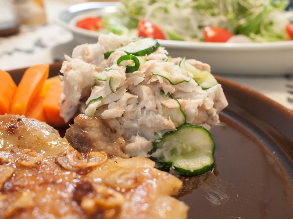 里芋のポテトサラダ