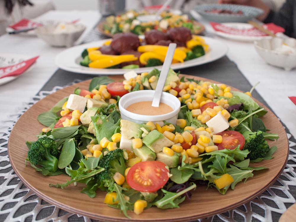 パーティ用サラダ