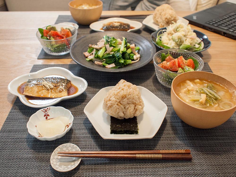 和食の献立て