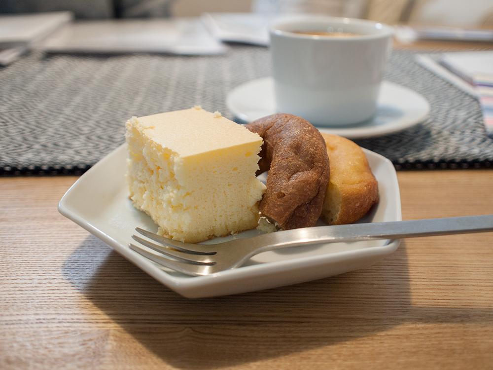 奇跡のチーズケーキ