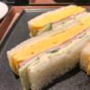 銀座モダンテラスの卵サンド