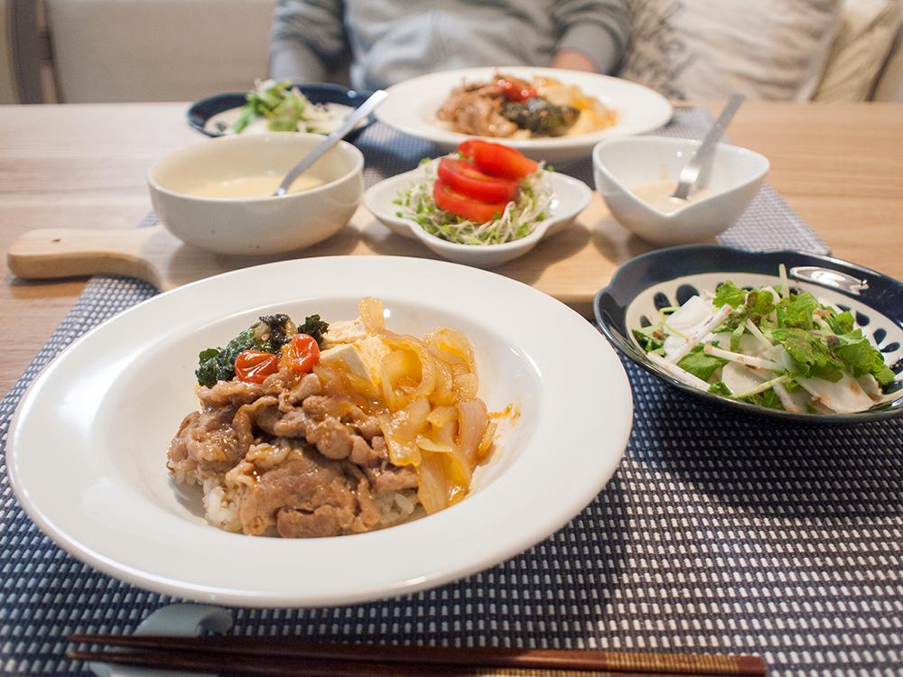 kitoisix 洋風豚すき焼き丼