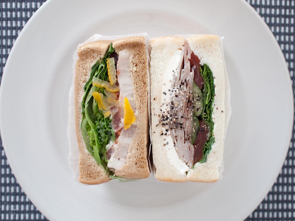 ワズサンドイッチの西京味噌BBLT