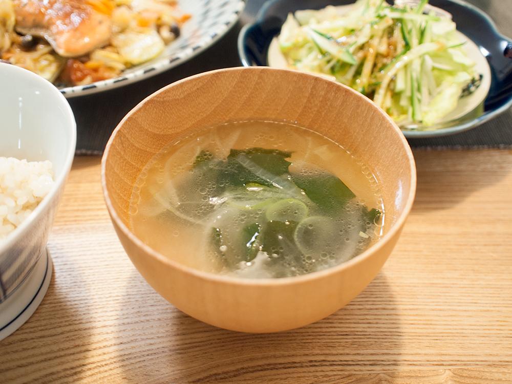 わかめの中華スープ