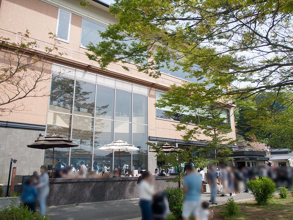 箱根ベーカリー&カフェ外観