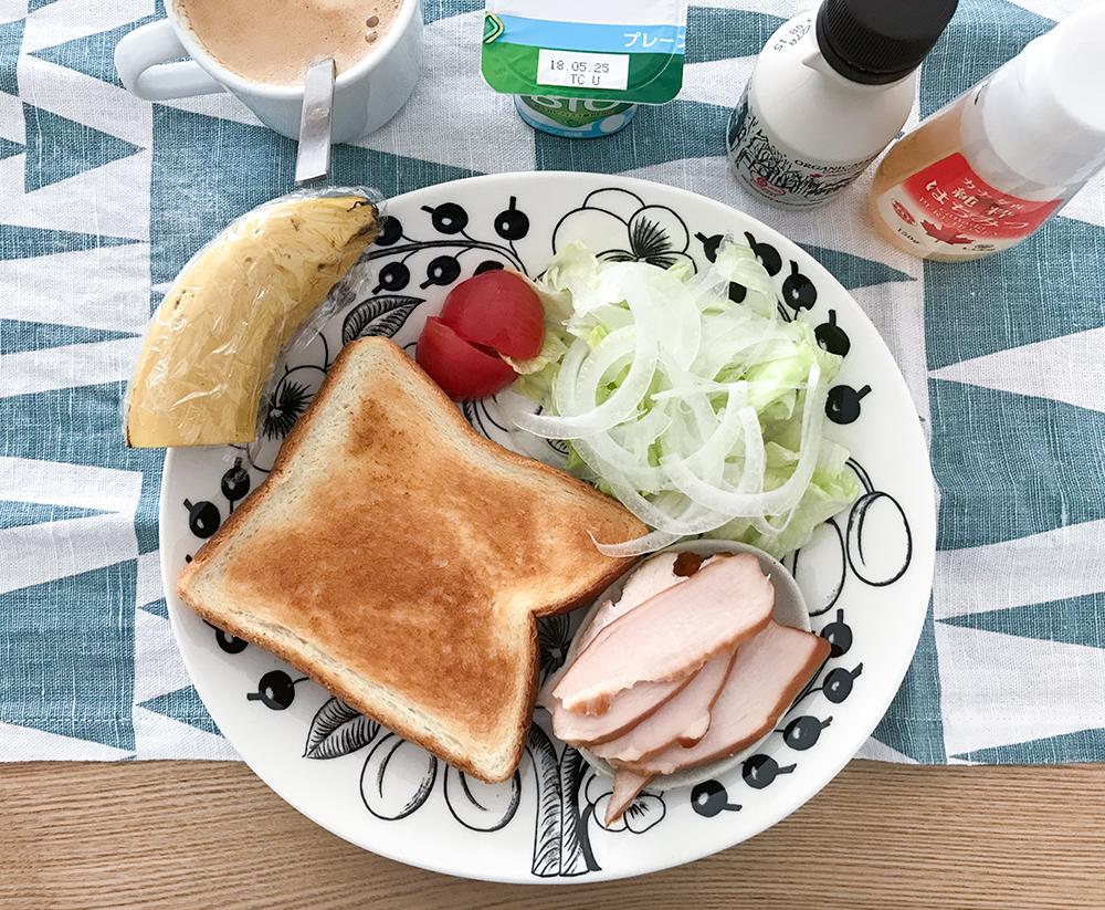 低脂質な朝ごはん